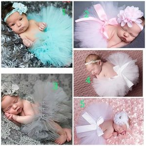 Other - Top Sale Baby Girl Tulle Tutu Skirt and Flower Hea